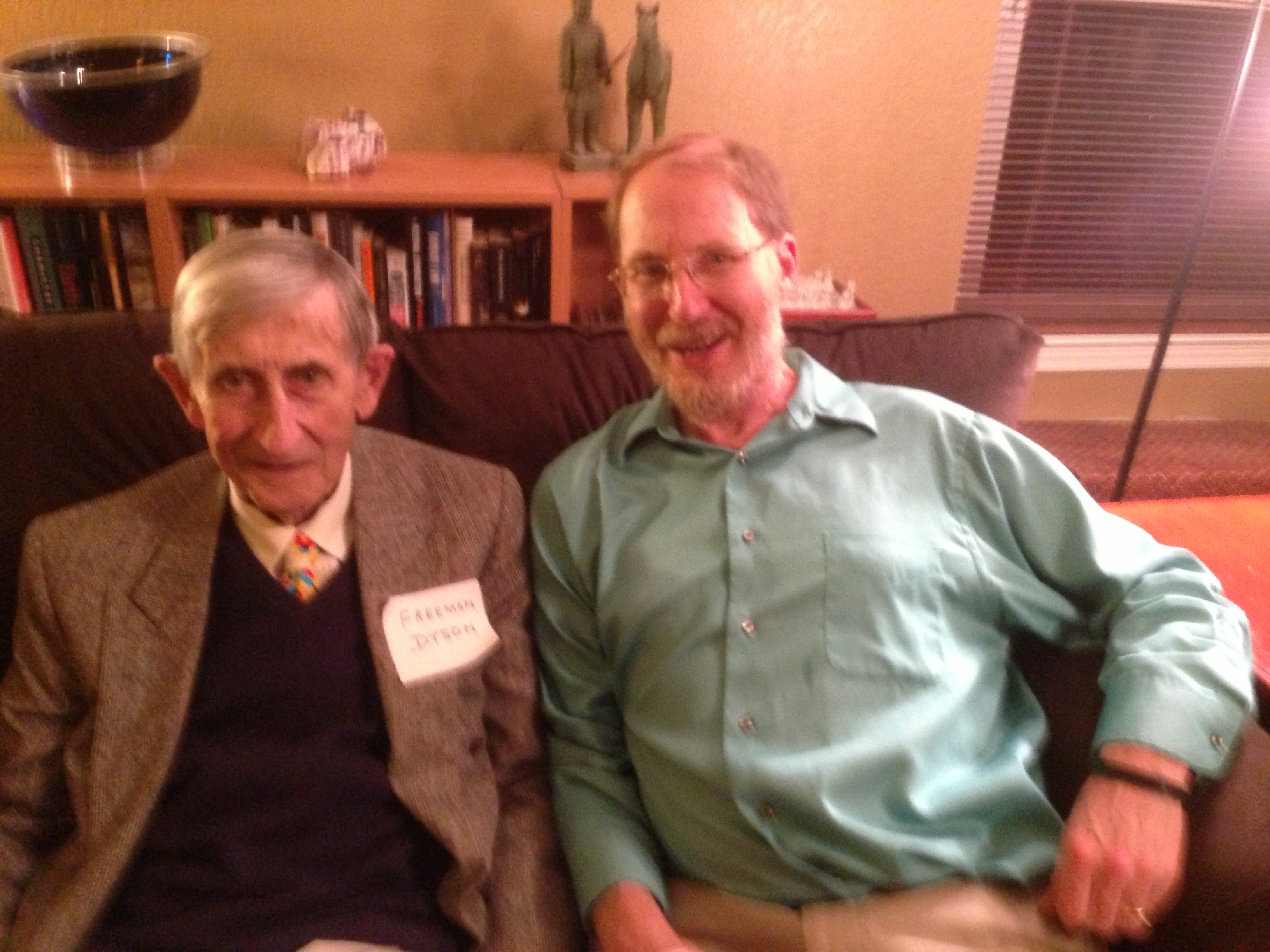 Freeman Dyson and Geoffrey Landis